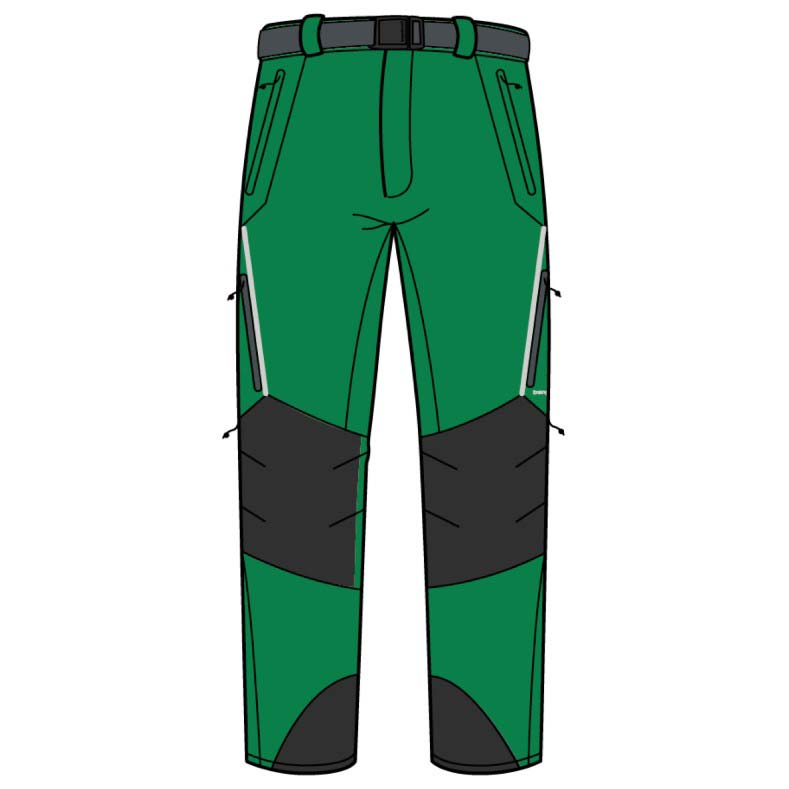 Trangoworld Prote Extreme Ds Regular Pants XXL Peridot / Magnet