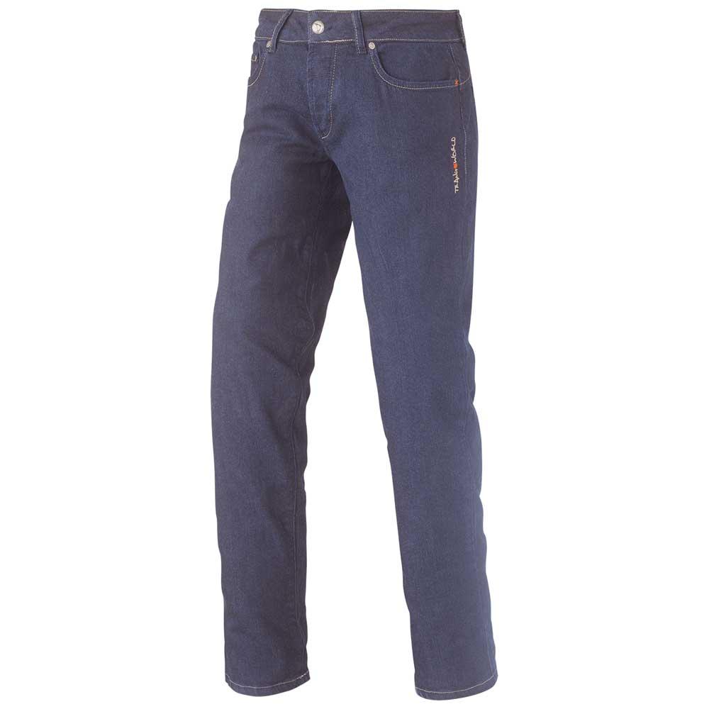 Trangoworld Zugar Pants Regular Woman L Blue