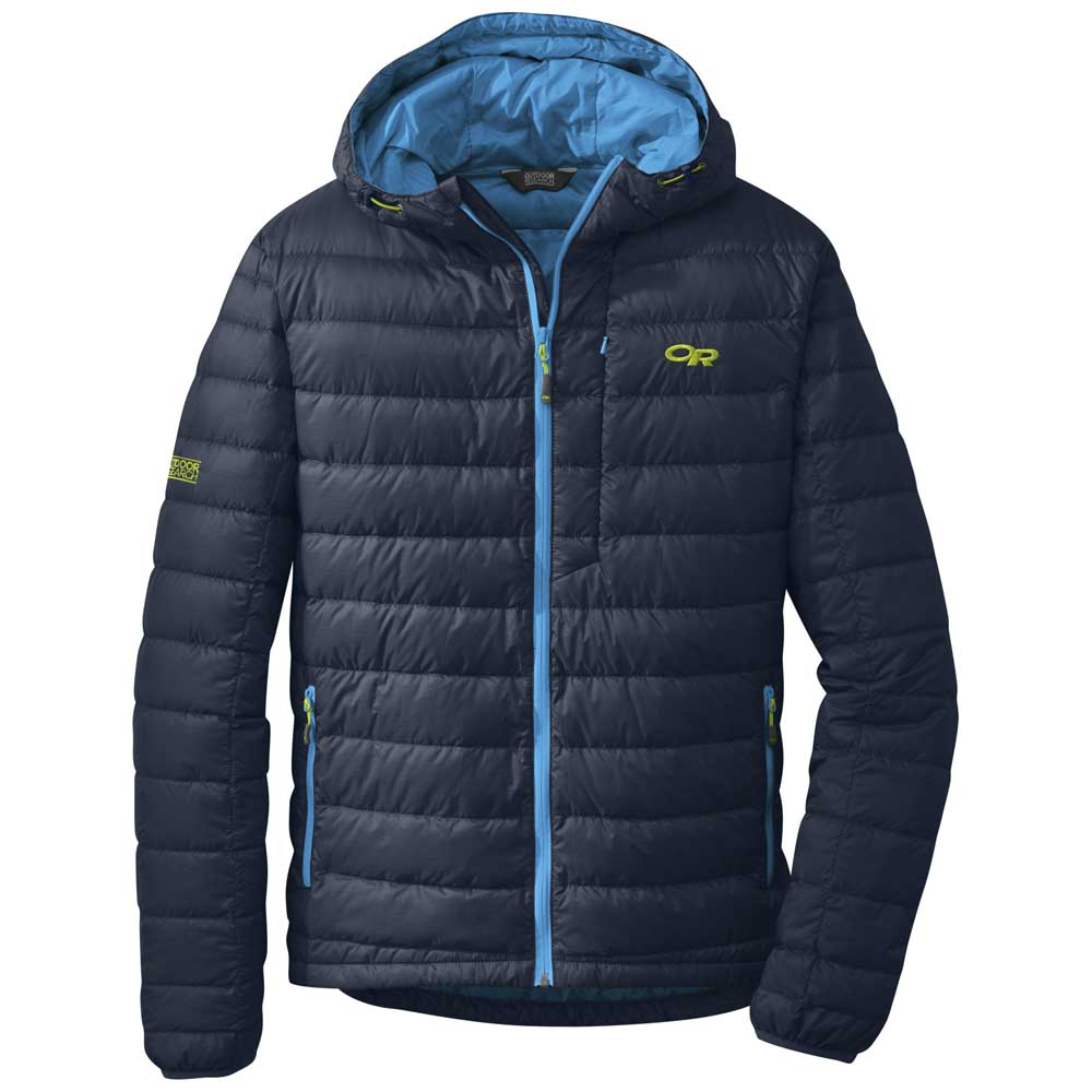 Outdoor Research Transcendent Hooded Mens Jacket Down Night Tahoe Jaket Tracktop Rsch Premium Picture 2 Of