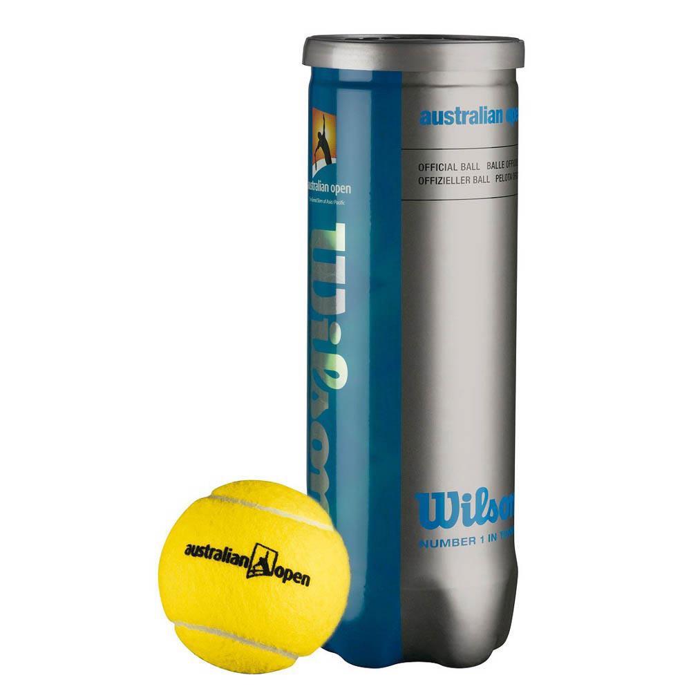 Wilson Australian Open 3 Balls Yellow