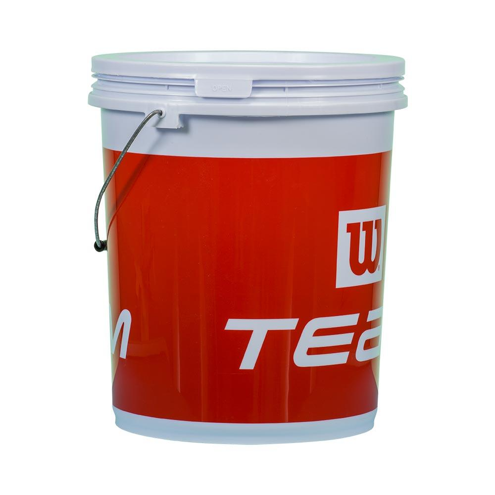 Wilson Ball Bucket With Handle One Size Red / White