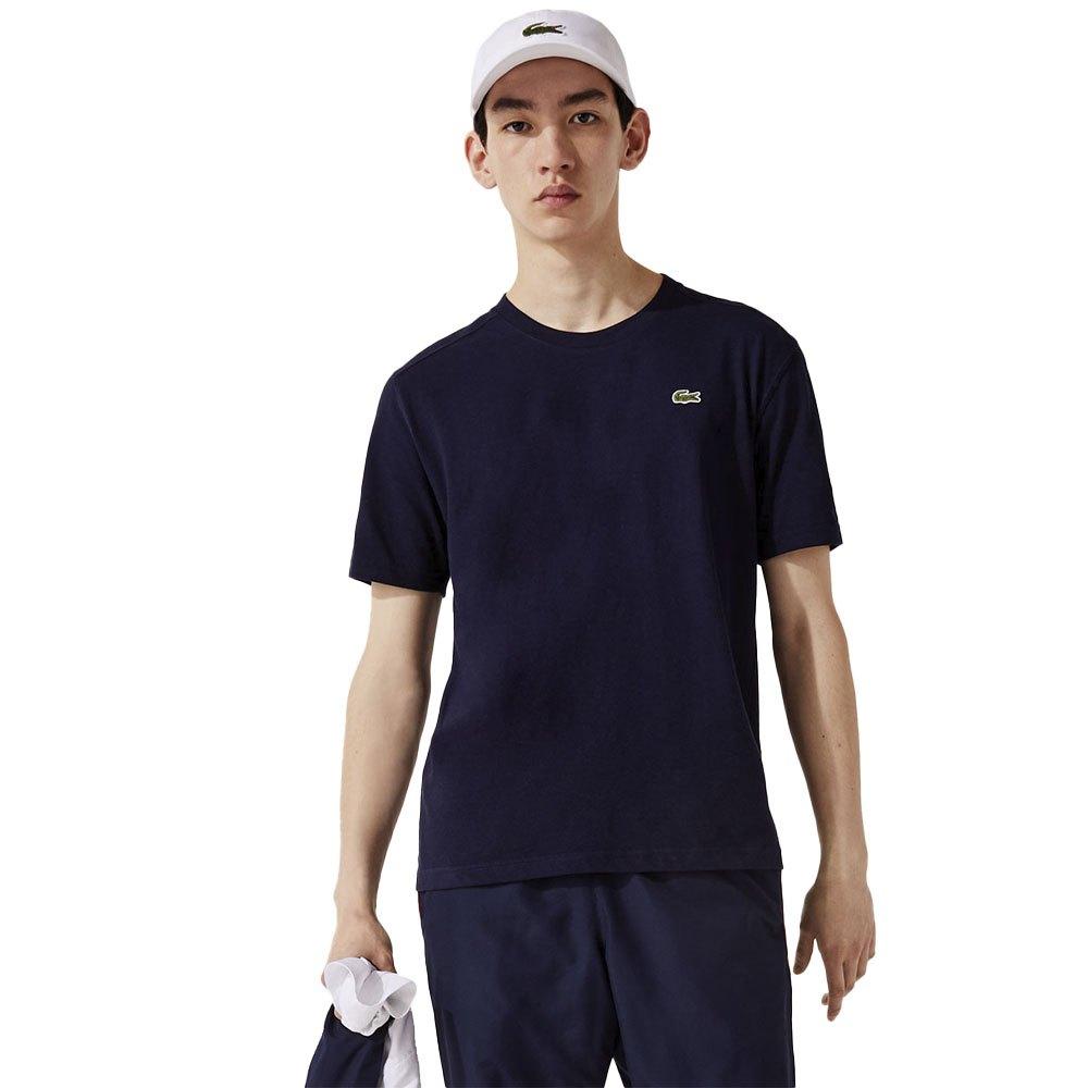Lacoste T-shirt Manche Courte Sport Regular Fit Ultra Dry Performance XS Navy Blue