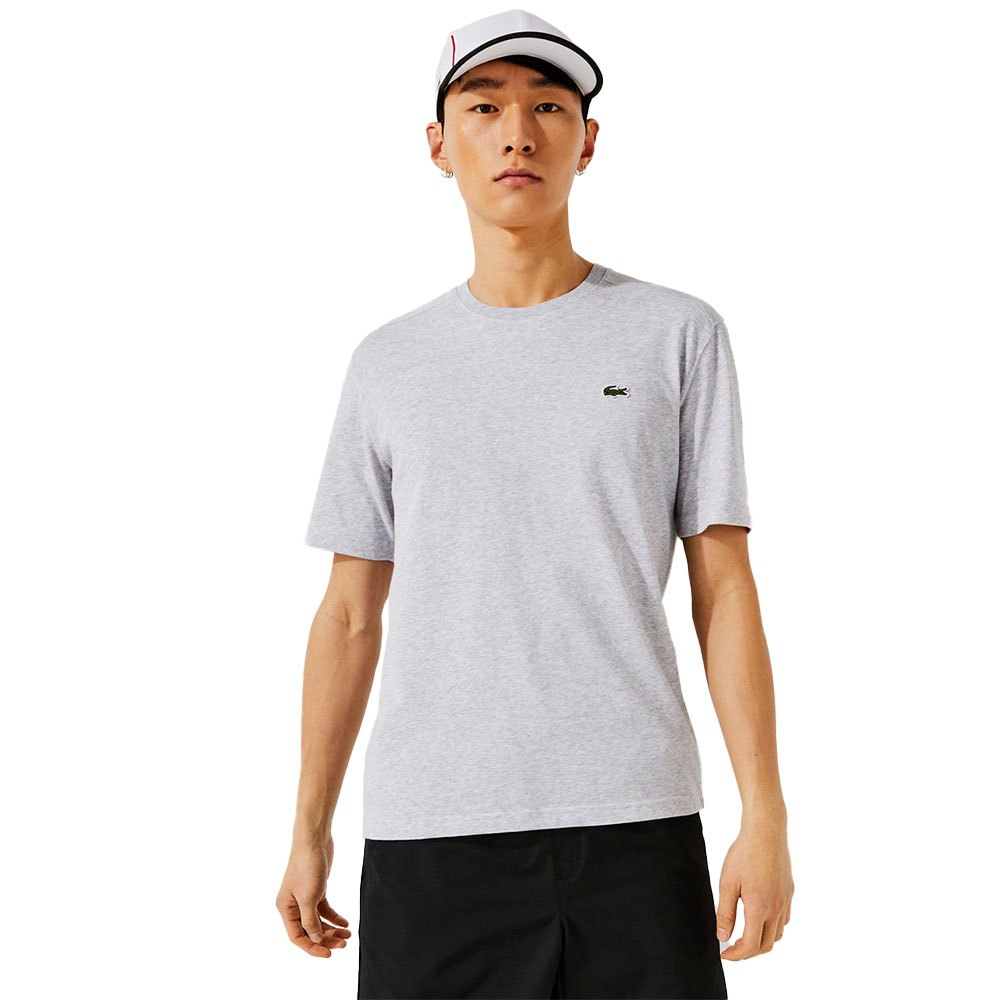 Lacoste T-shirt Manche Courte Sport Regular Fit Ultra Dry Performance XS Silver Chine