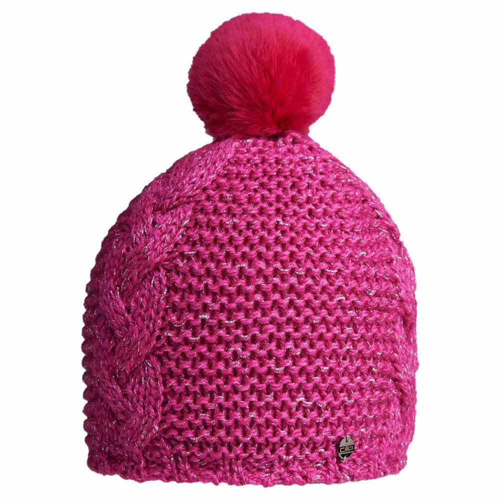 cmp-knitted-hat-one-size-hot-pink