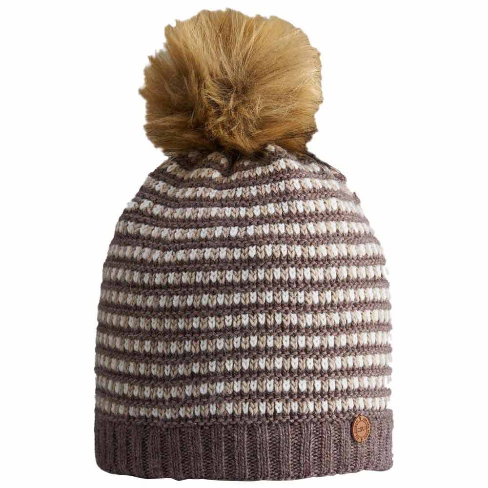 cmp-knitted-hat-one-size-chocolate