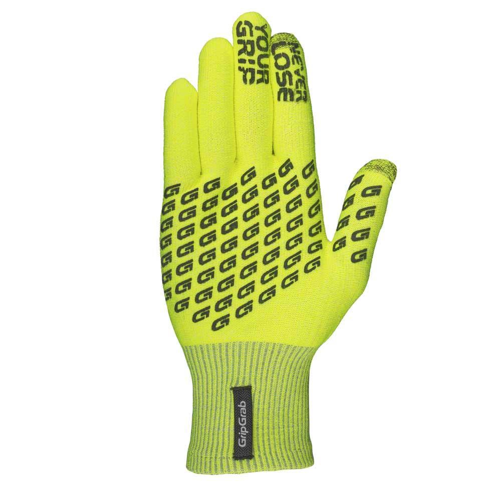Gripgrab-Primavera-Hi-Vis-Yellow-T84490-Gloves-Male-Yellow-Gloves-GripGrab thumbnail 8