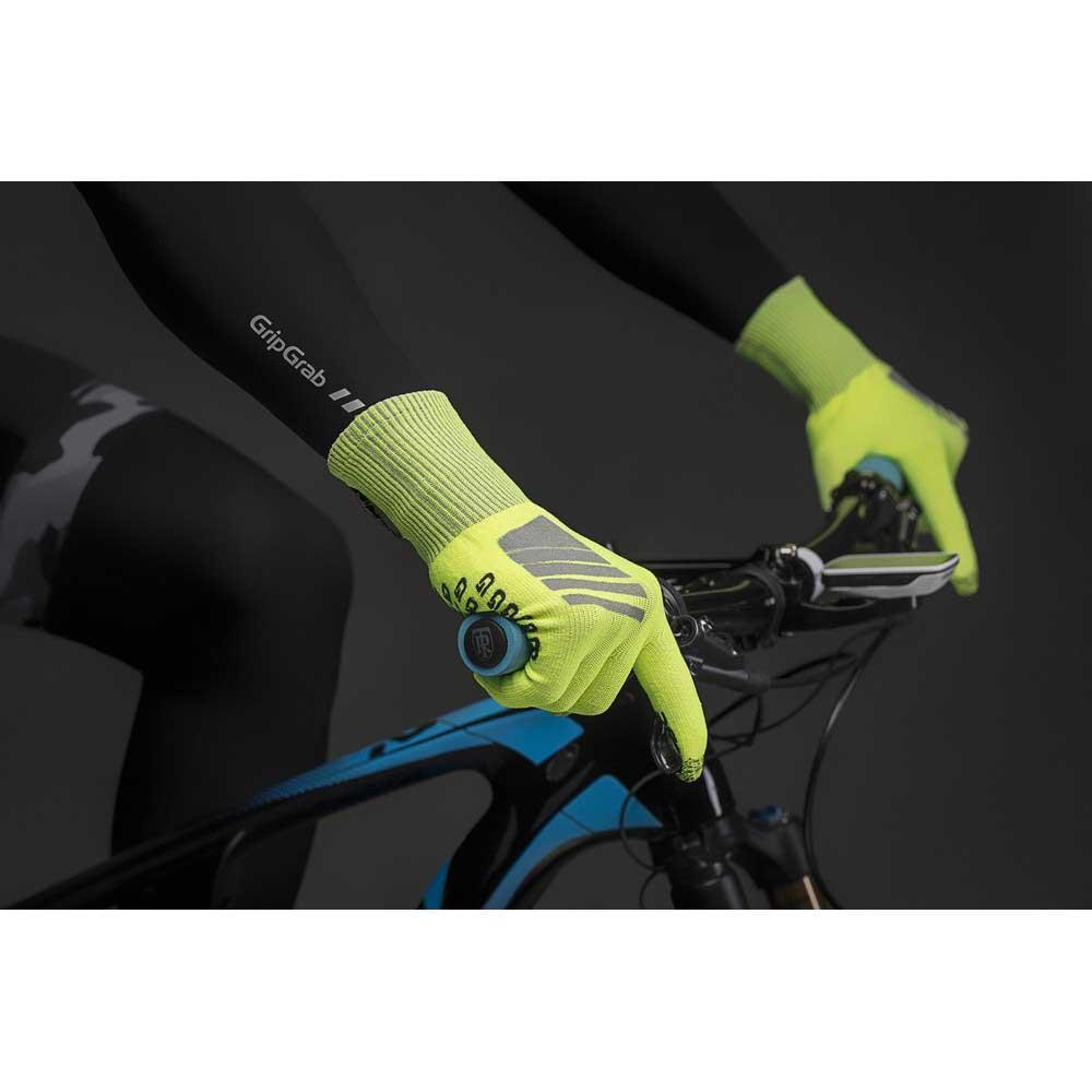 Gripgrab-Primavera-Hi-Vis-Yellow-T84490-Gloves-Male-Yellow-Gloves-GripGrab thumbnail 11