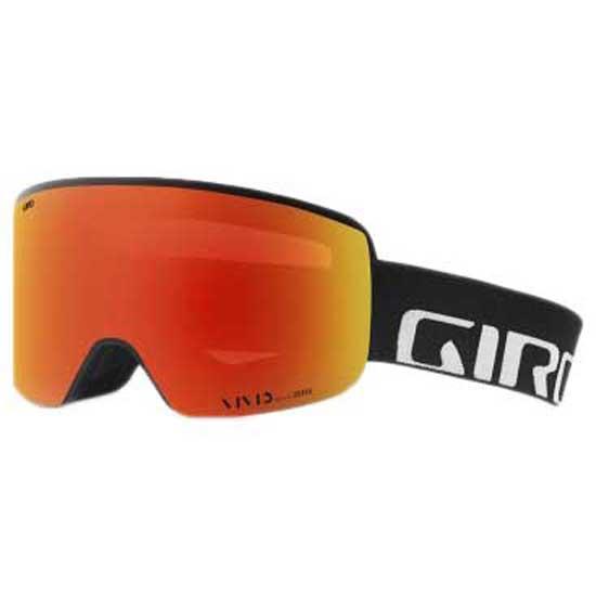 Giro Axis Vivid Ember/CAT2 + Vivid Infrared/CAT1 Black Wordmark