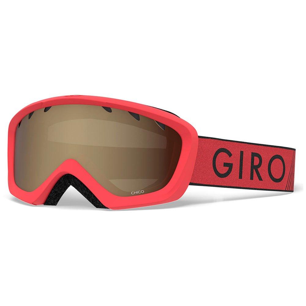 Giro Masque Ski Chico Amber Rose/CAT2 Red / Black Zoom