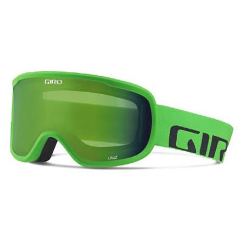 Giro Cruz Loden Green/CAT2 Bright Green Wordmark