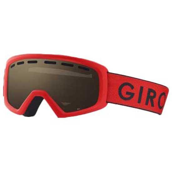 Giro Masque Ski Rev Amber Rose/CAT2 Red / Black Zoom