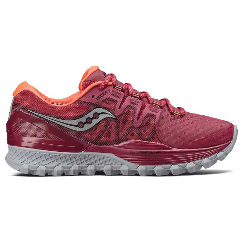 Saucony Xodus Iso 2 2 2 Rouge , Chaussure Trail Running Saucony , running a418f3