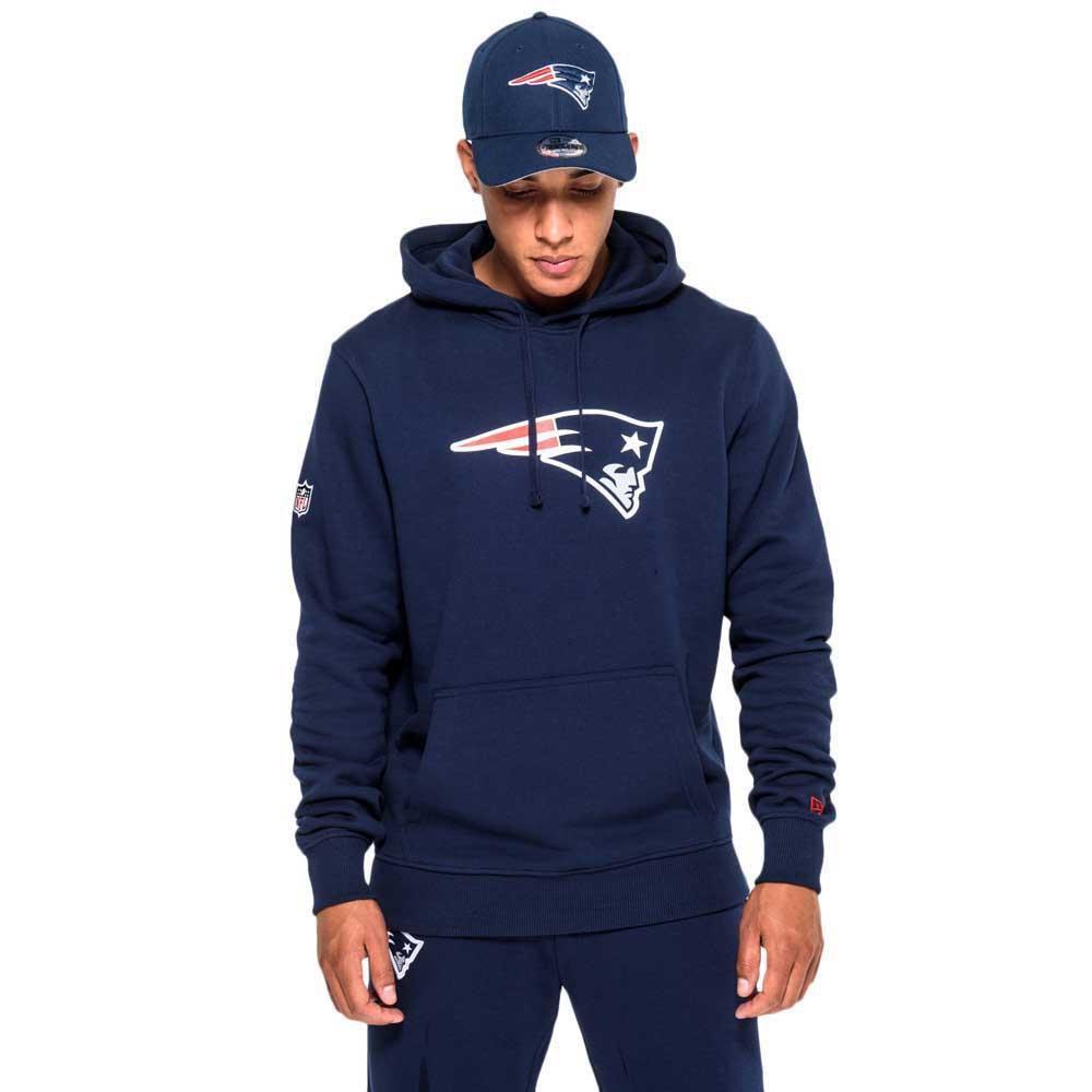 New Era New England Patriots Team Logo L Oceanside Blue