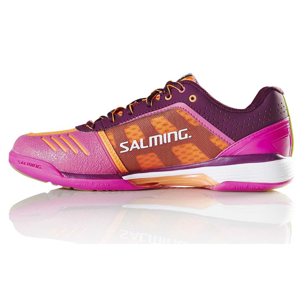 Salming Chaussures Viper 4 EU 36 Purple / Orange