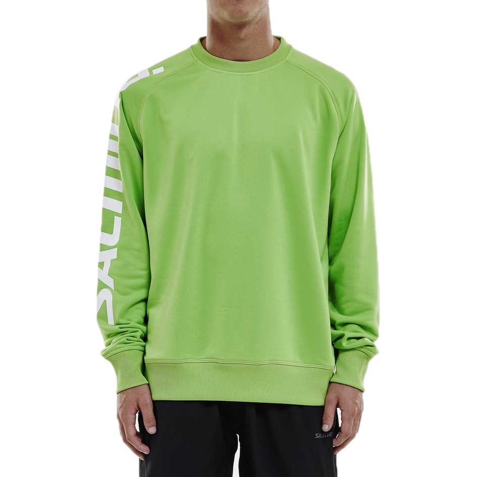 Salming Logo Warm Up S Lime Green