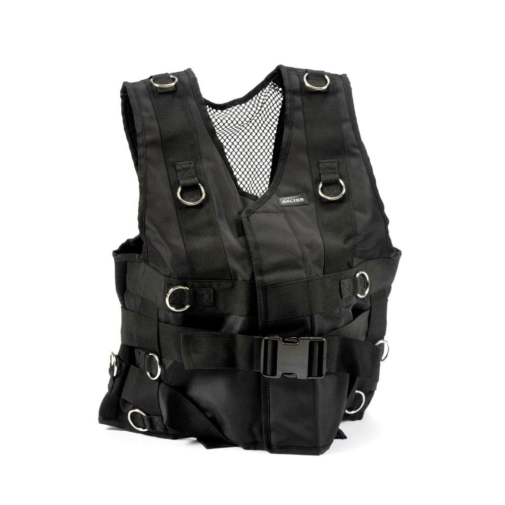 Salter Vest With Rings One Size Black