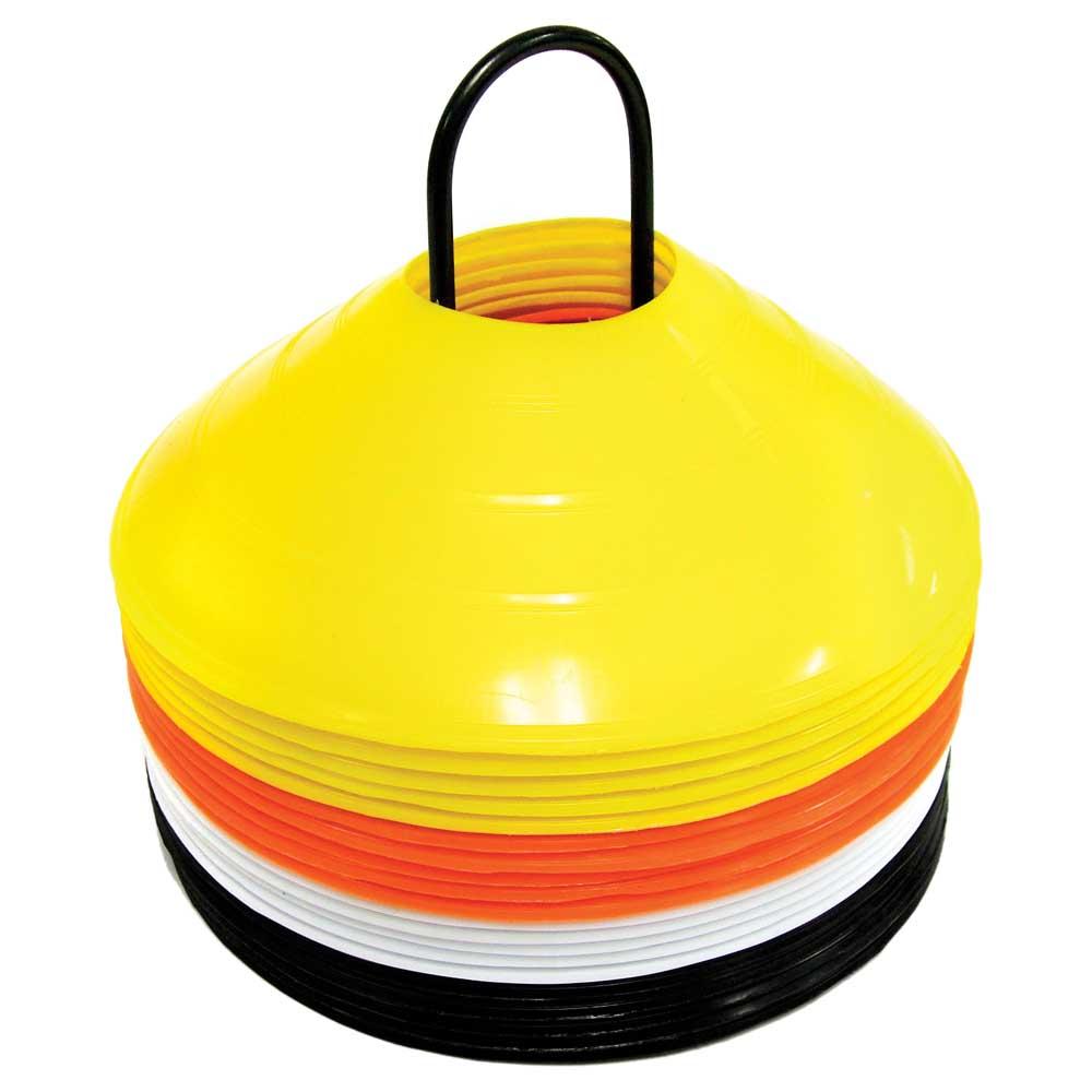 Sklz Agility Cone Set Of 20 2 Inches Yellow / Black / White / Orange