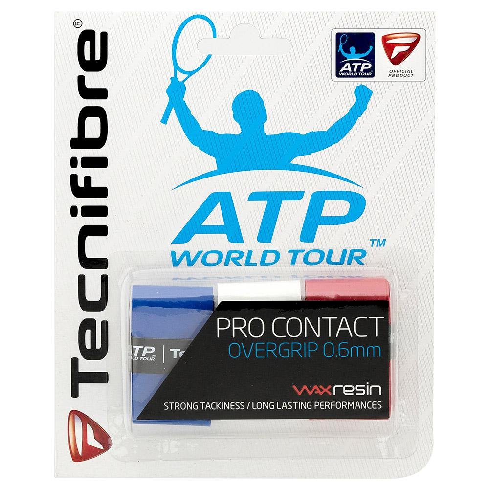 Tecnifibre Pro Contact 3 Units One Size Blue / Red / White