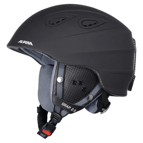 Alpina Grap 2.9 Black Matt , , , Casques Alpina , ski , Protections 36fd65