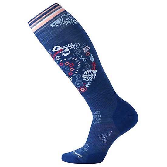 smartwool-phd-ski-light-elite-pattern-eu-42-45-dark-blue