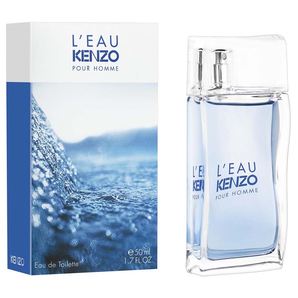 Kenzo L´eau Pour Homme Eau De Toilette 50ml One Size