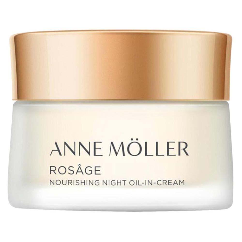 Anne Moller Rosage Night Oil In Cream 50ml 50 ml