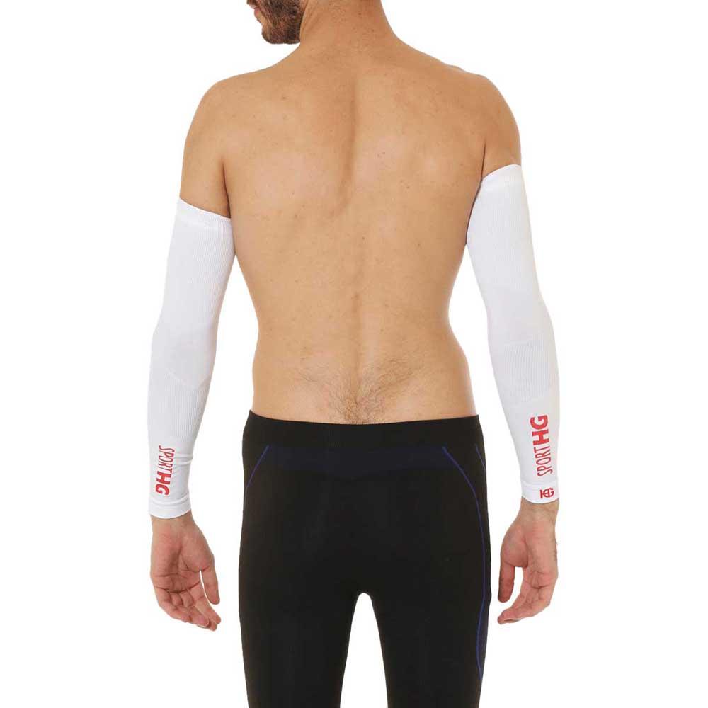 Sport Hg Zero Arm Sleeves L-XL White