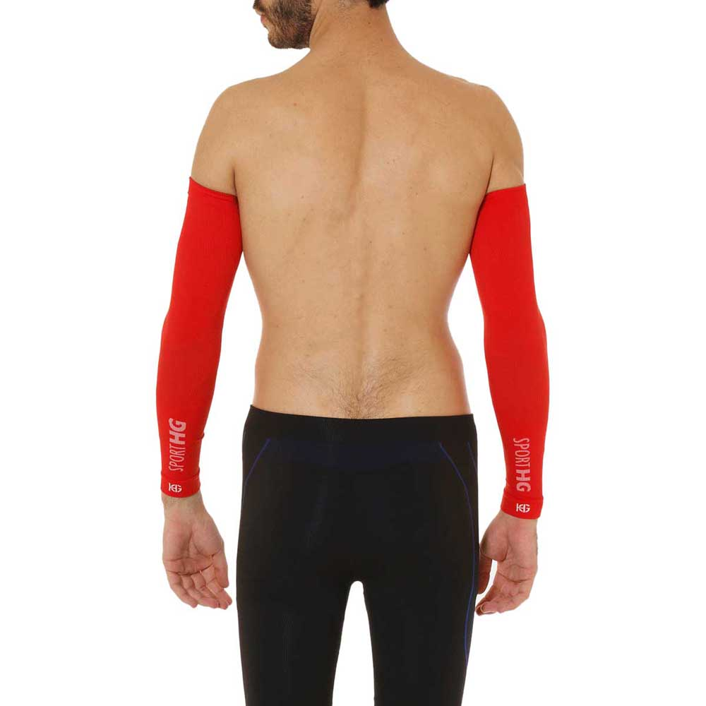 Sport Hg Zero Arm Sleeves S-M Red