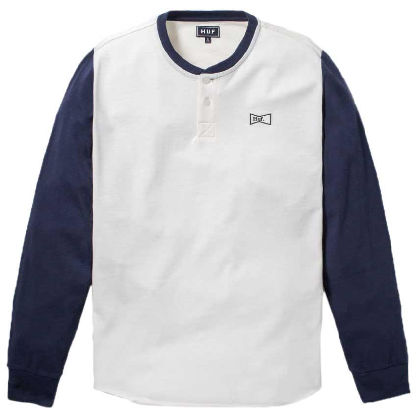 Huf Clubber Henley XL Off White