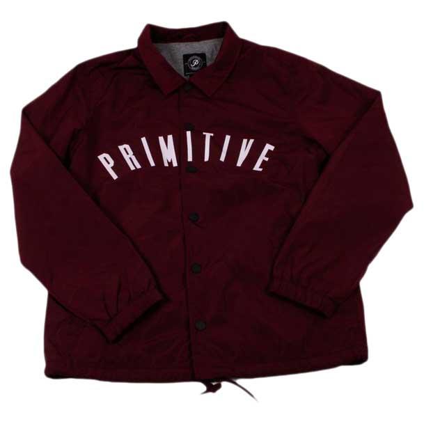 Homme Sports Coach Primitive Vêtements Condensed Vestes Rouge 4wqwOzAp