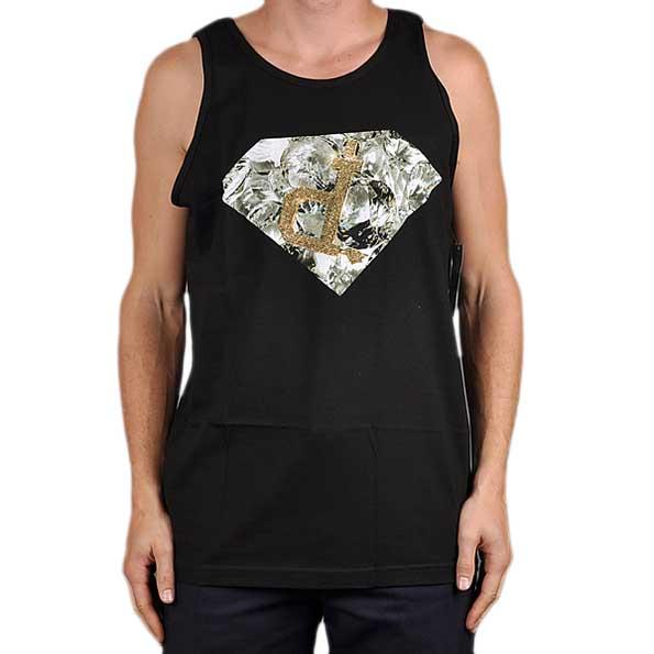 Diamond Shining Ben Baller Un Polo Tank Black XL Black