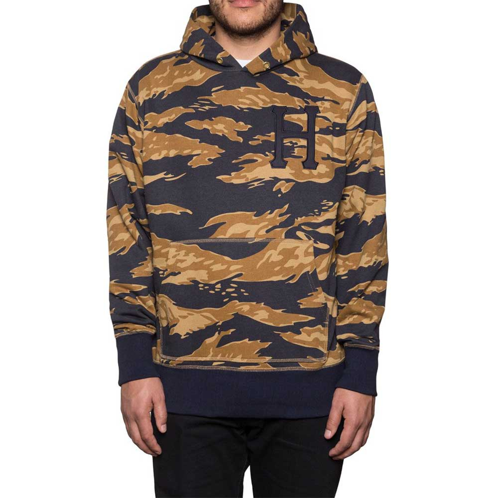 Huf Golden Tiger Stripe Pullover Hood S Camo
