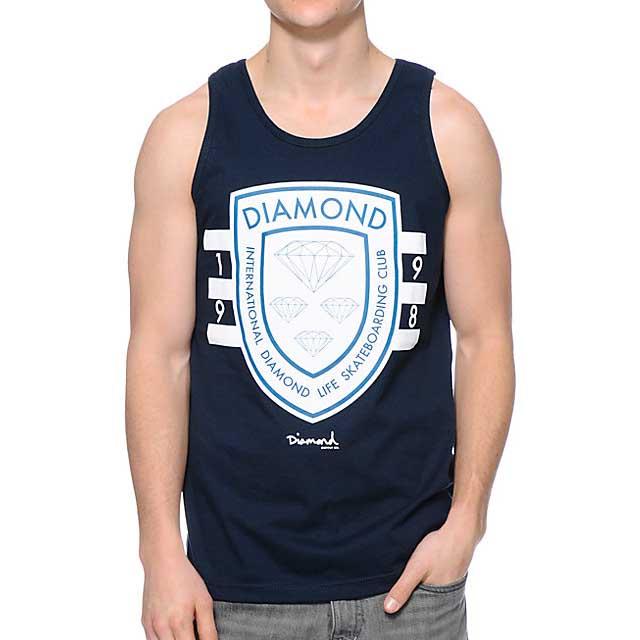 Diamond Int´l Skateboarding S Navy