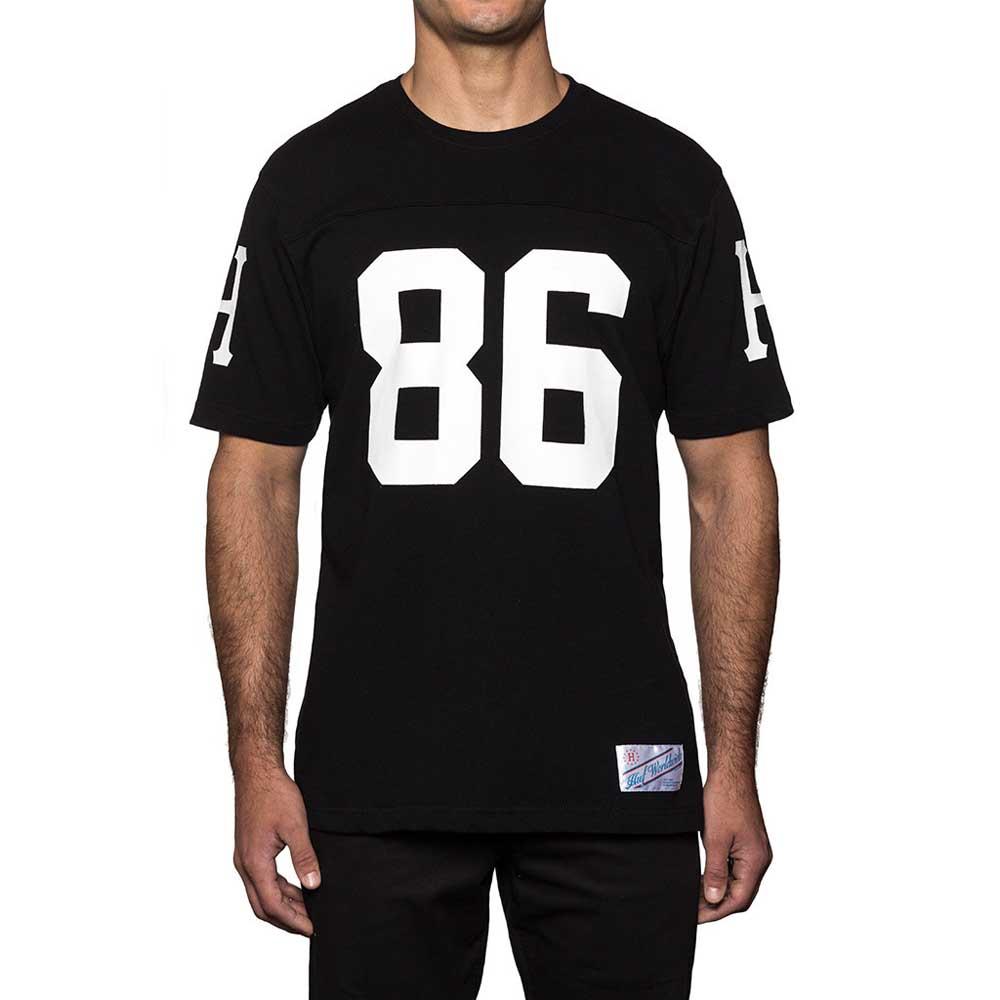Huf Layne Crew Football Nero , , Magliette Huf , sport , Nero Abbigliamento Uomo 22dc62