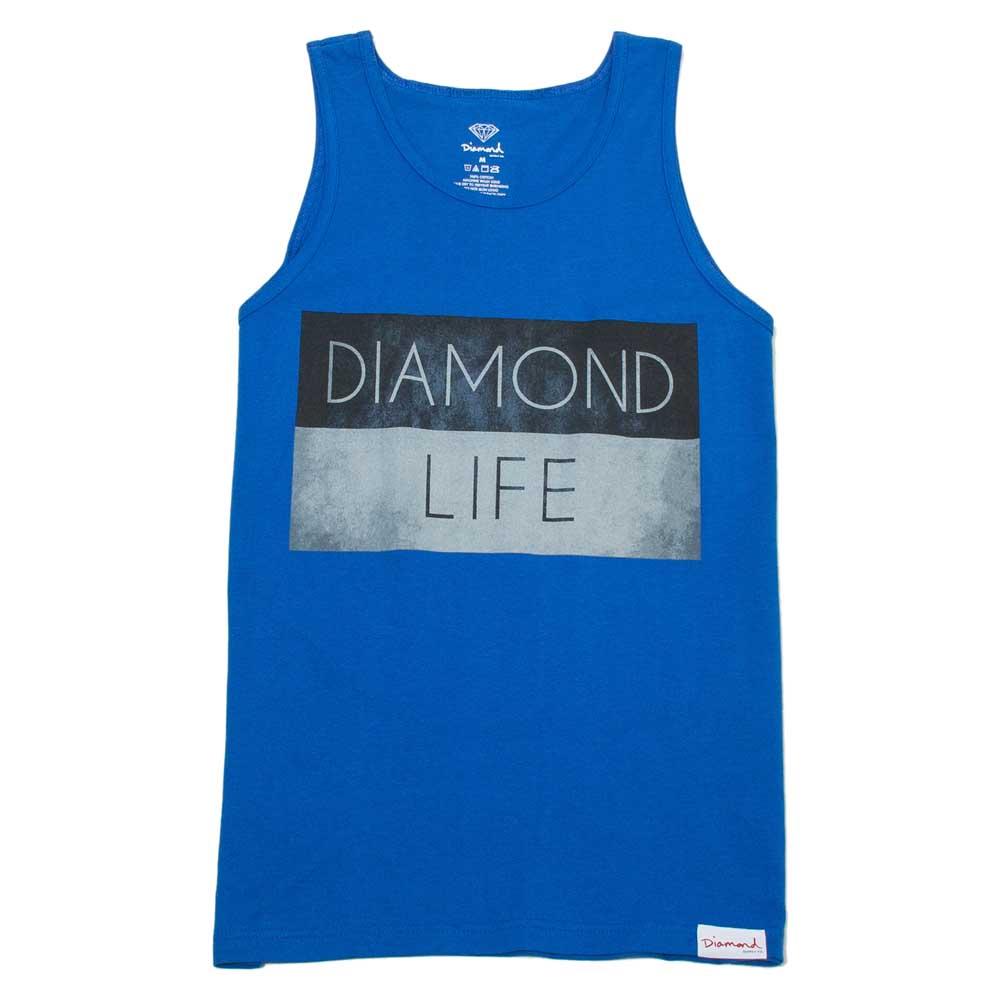 Diamond Life Flag S Royal Blue
