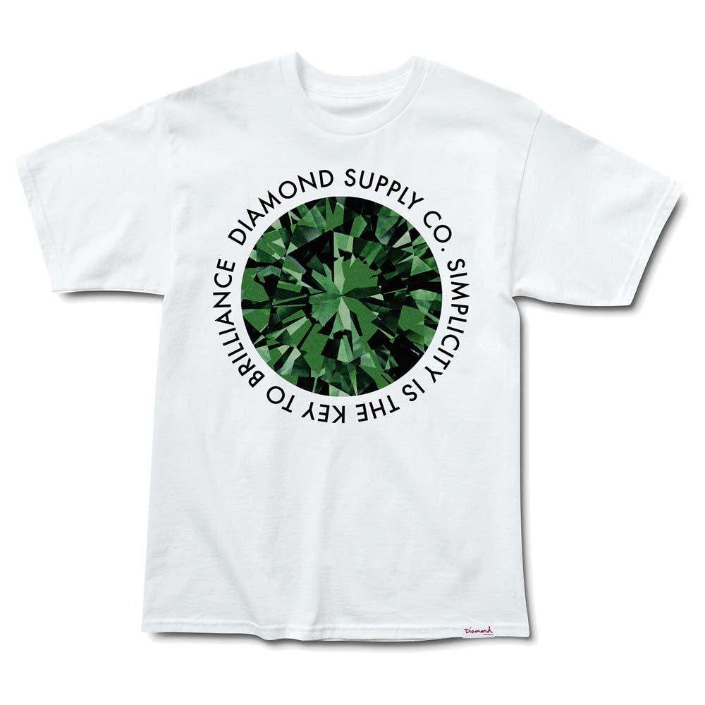 Diamond Simplicity S White / Green
