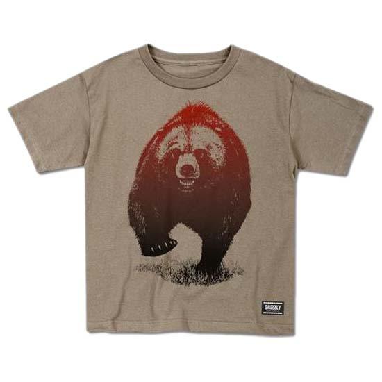 Grizzly-Skies-Cub-Bianco-Magliette-Grizzly-sport-Abbigliamento-ragazzi
