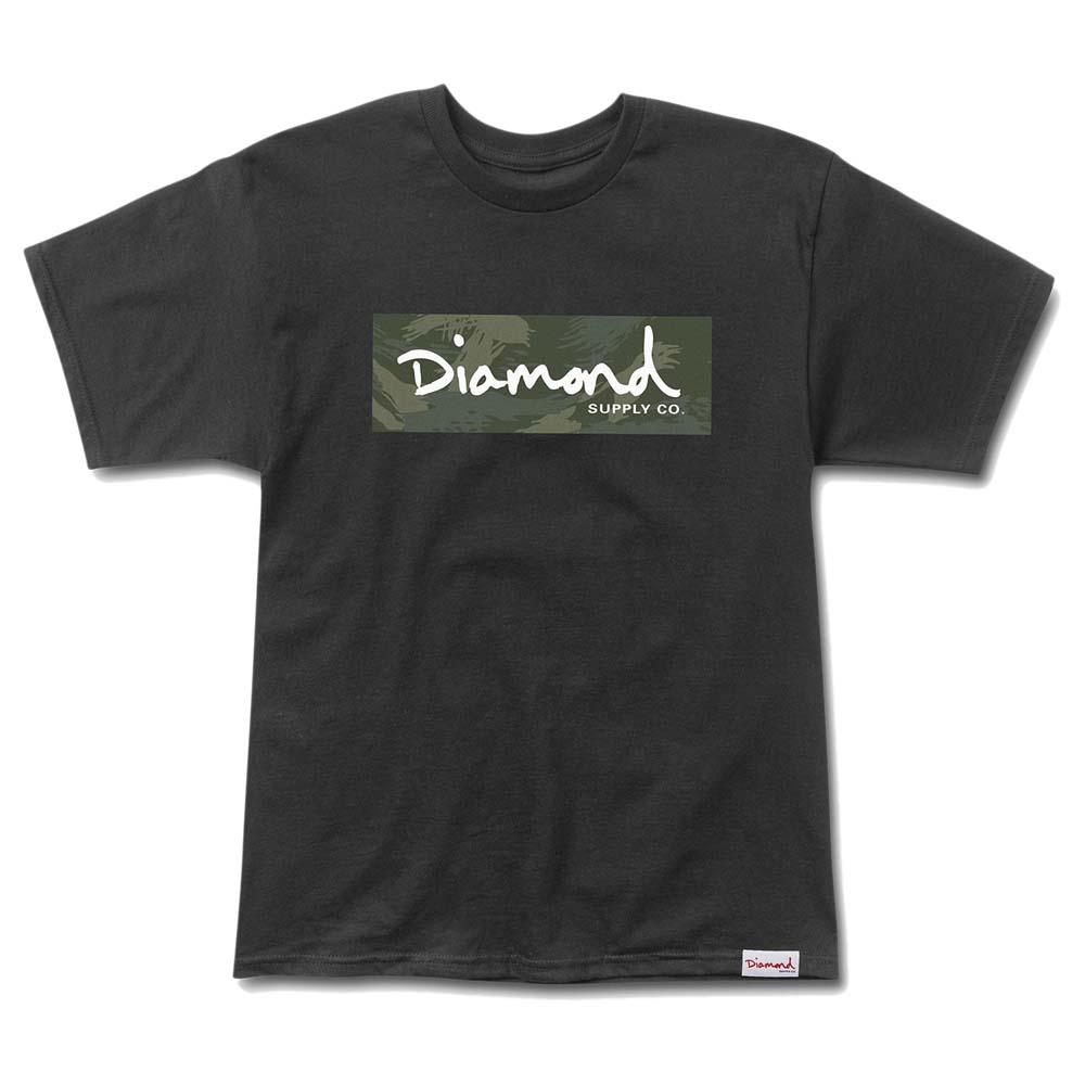Diamond Tonal Box Logo S Black