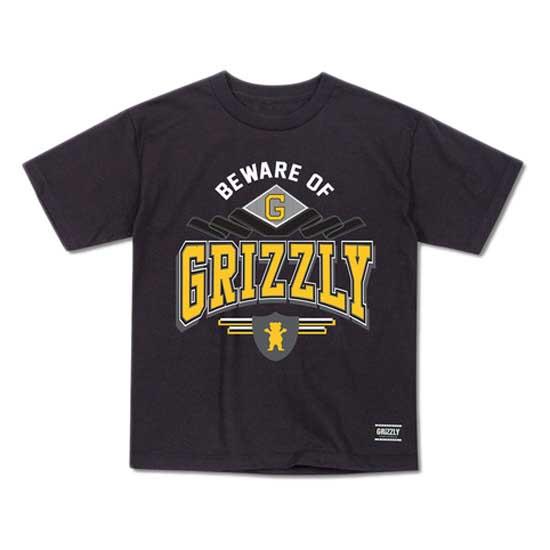 Grizzly-Visitor-Cub-Nero-Magliette-Grizzly-sport-Abbigliamento-ragazzi