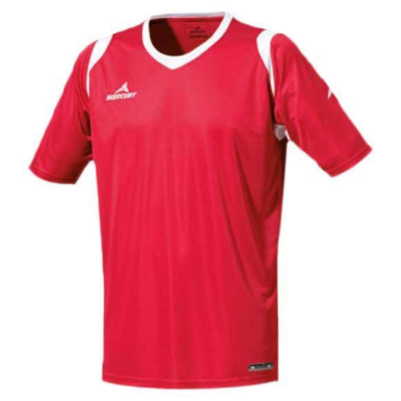 Mercury Equipment T-shirt Manche Courte Bundesliga S Red / White