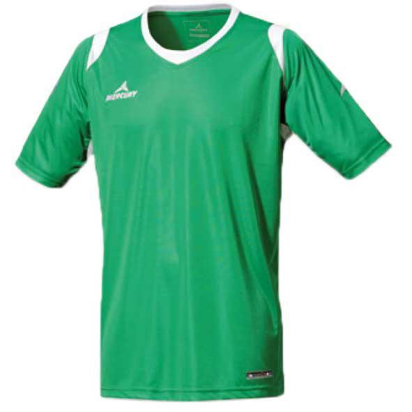 Mercury Equipment T-shirt Manche Courte Bundesliga S Green / White