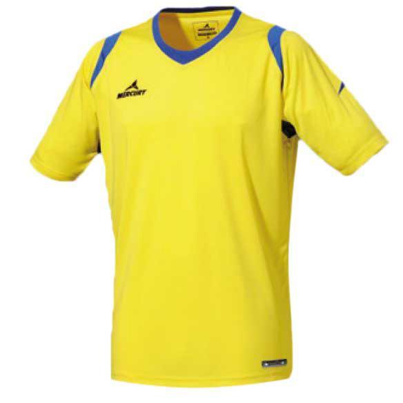 Mercury Equipment T-shirt Manche Courte Bundesliga S Yellow / Blue