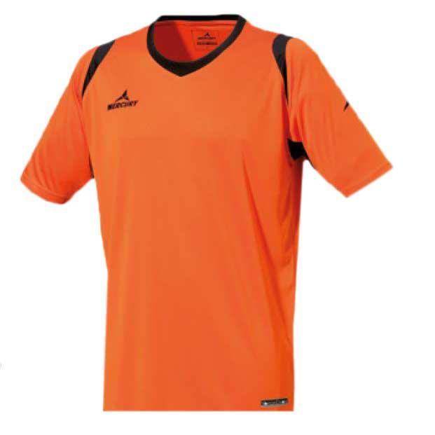 Mercury Equipment T-shirt Manche Courte Bundesliga S Orange / Black