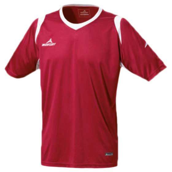 Mercury Equipment T-shirt Manche Courte Bundesliga S Maroon / White