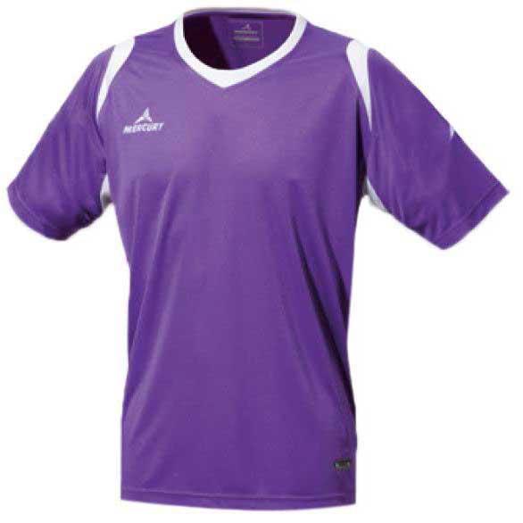 Mercury Equipment T-shirt Manche Courte Bundesliga S Purple / White