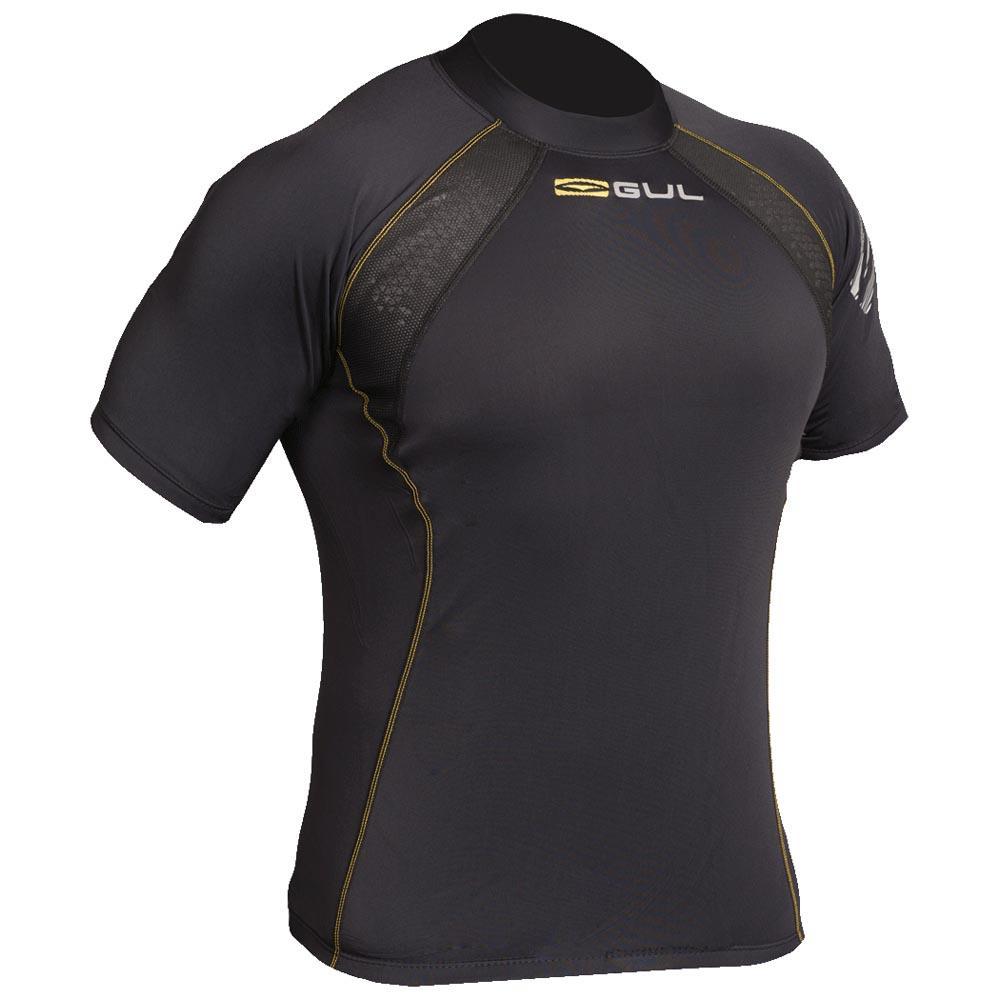 Gul-Evolite-Fl-Black-Magliette-Gul-nautica-Abbigliamento-Uomo