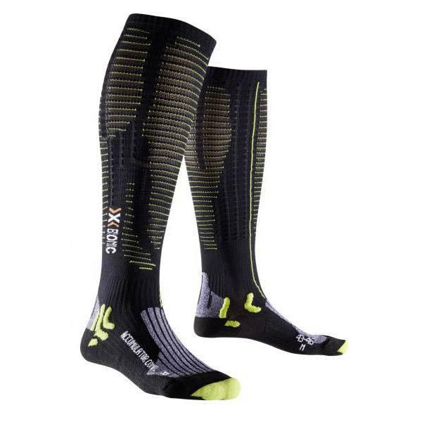 X-socks Effektor Competition EU 35-38 Black / Acid Green