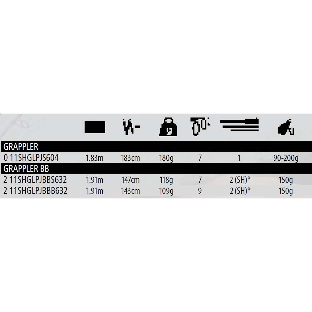 Shimano Grappler Bb 150 gr , , , Angelruten Shimano , angelsport , Angelausrüstung 30f66d