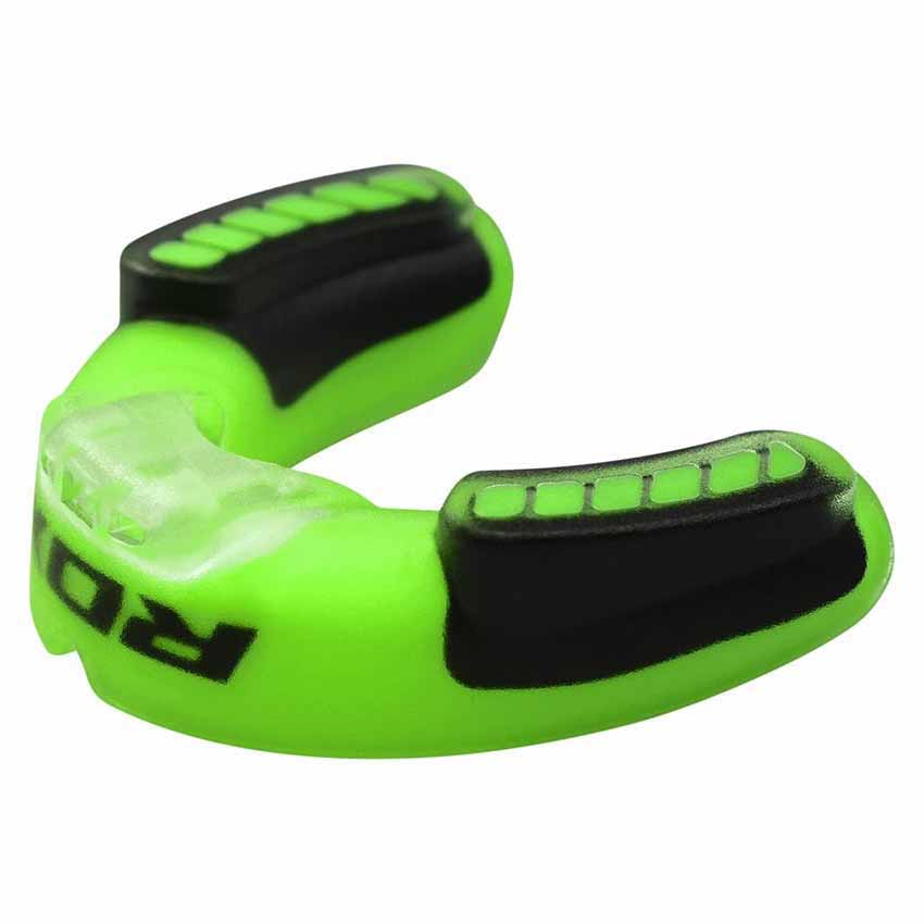Rdx Sports Mouth Guard Adult One Size Green