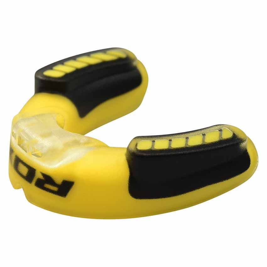 Rdx Sports Mouth Guard Adult One Size Yellow